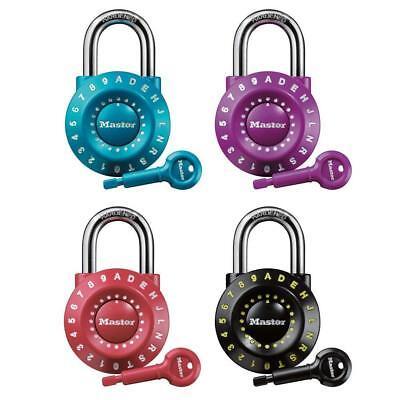 Master Lock Personalized Letternumber Padlock
