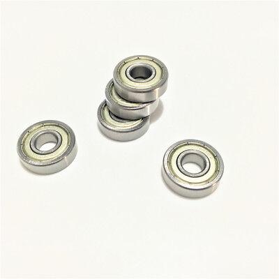 2pcs 608zz 608z 608 2z 8x22x7mm Deep Groove Ball Bearing Mini Bearing 8227