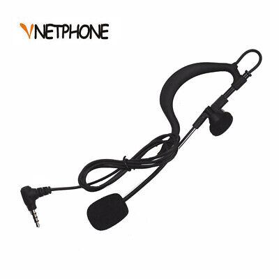 Vnetphone 3.5mm Referee Headset Earhook Intercom Headphones for  V4 V6 T4U8