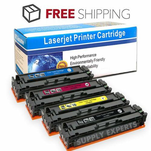 4-Pk Toner Set for HP 201X Color LaserJet Pro MFP M277dw M277 M252dw M252 CF400X