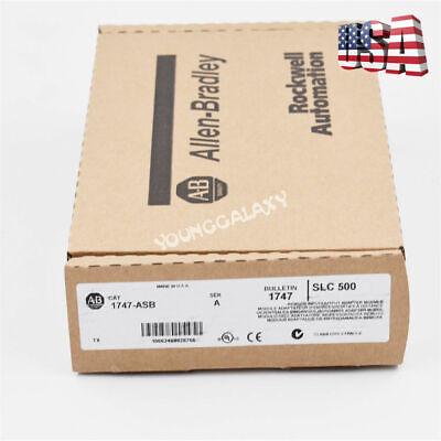 New Allen Bradley 1747-asb Slc500 Remote Adapter Module 1747asb Plc