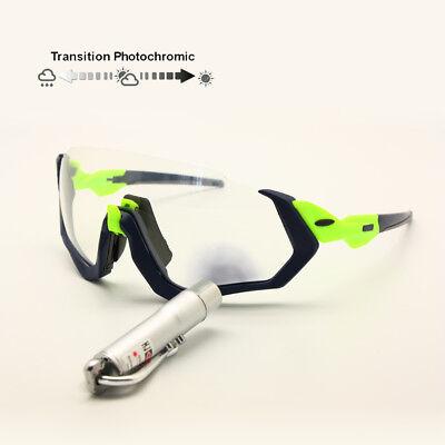 Transition Polarized Cycling Goggles 3 Lens Kit UV400 MTB Bicycle (Mtb Sunglasses)