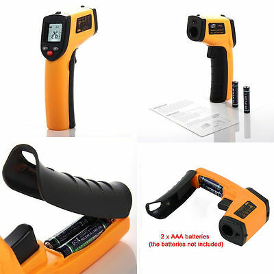 Temperature Gun Non-contact Infrared Ir Laser Digital Thermometer Us Seller Oy