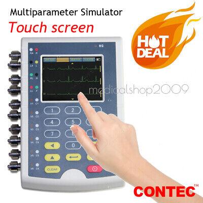 Touch Screen Multi-parameter Patient Simulator Ecg Simulator Ms400 Fda