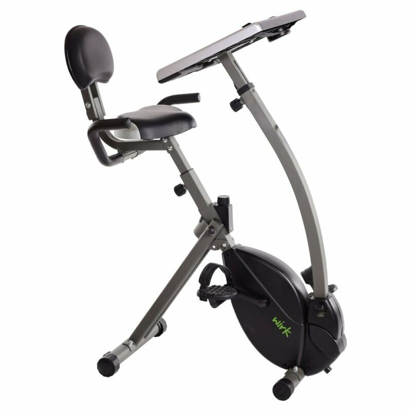 Wirk Ride Exercise Bike Workstation and Standing Desk 85-2221