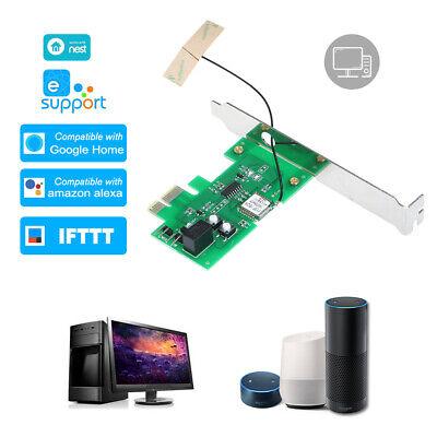 Compatible Pc Desktop Computer (Mini PCI-e Desktop PC Remote Control Switch Card Compatible with Sonoff G9M6 )