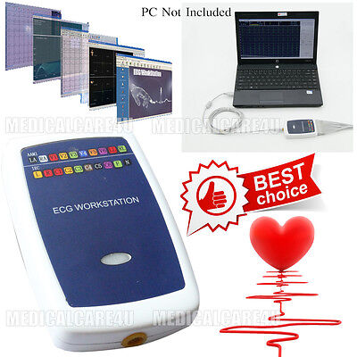 Ecg Workstation Pc Based Ekg Analysis Diagnosis System 12 Lead Resting Software