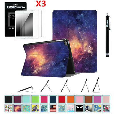 Slim Folio Case Cover Stand For iPad 9.7'' 6th Generation 2018 + 3PCS Protector