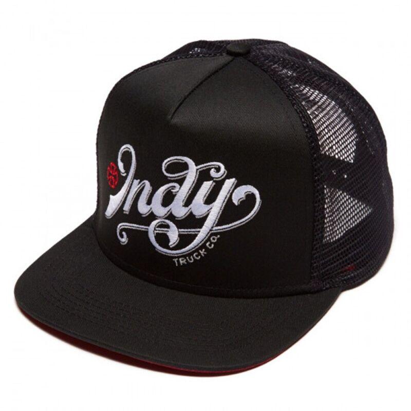 Independent Trucks LIT MESH Skateboard Snapback Trucker Hat BLACK