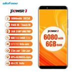 * ulefone * power 3 | 6.0 inch smartphone | face id !!!