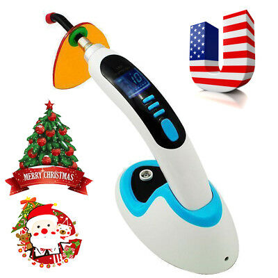Usa Led Dental Curing Light Lamp Teeth Whitening 10w Wireless Cordless 2000mw