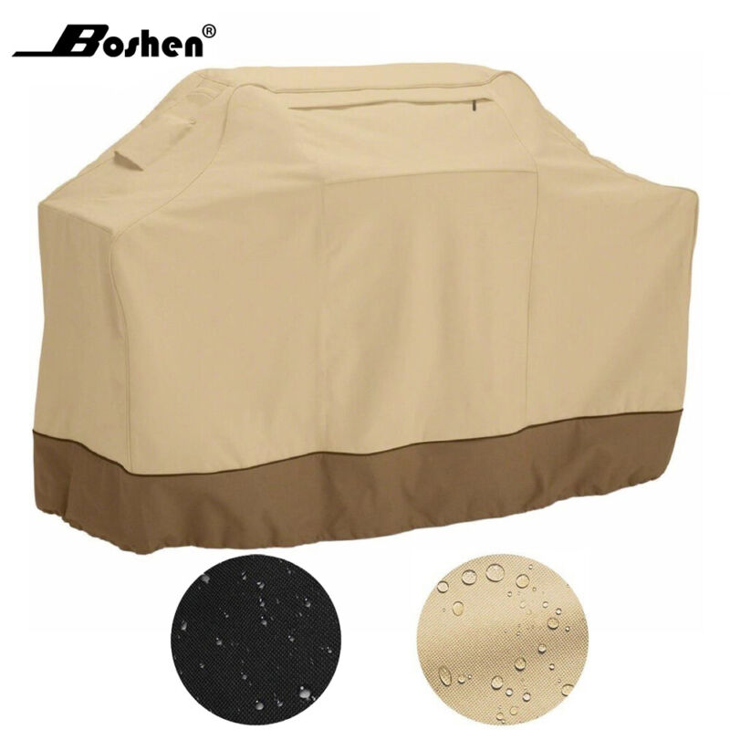 """Waterproof Outdoor Barbecue BBQ Gas Grill Cover 600D Heavy Duty 58"""" 64"""" 70"""" 72"""""""