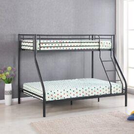 Triple Bunk Bed (Double + Single)