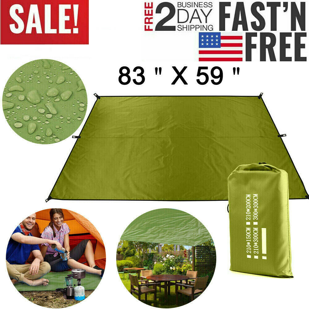 Camping Picnic Blanket Sand Free Beach Mat Cover Waterproof