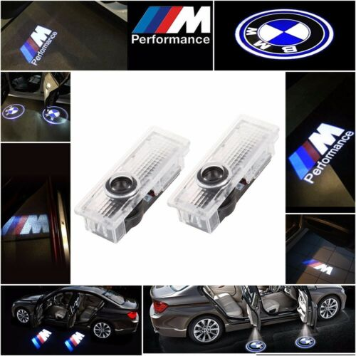 Car Parts - CREE LED Car Door Light Lamp Projector Shadow Puddle Courtesy Laser LOGO For BMW