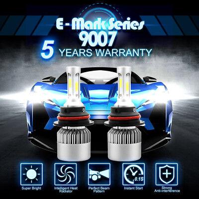 CREE COB 9007 HB5 900W 135000LM LED Headlight Kit Hi/Low Power Bulbs 6500K White