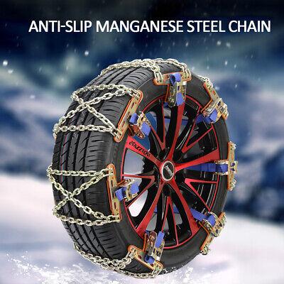 1X Wheel Tire Snow Anti-skid Chains for Car Truck SUV Emergency Winter Universal