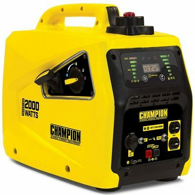 Champion 100306 - 1600 Watt Inverter Generator W Parallel Capability Carb