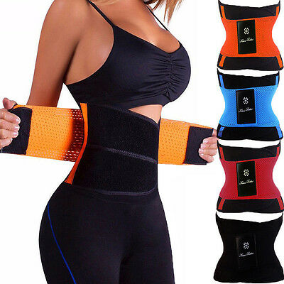 Body Girdle - POWERNET FAJAS COLOMBIANAS SHAPEWEAR BODY SHAPER GIRDLE WAIST CINCHER SPORT BELT