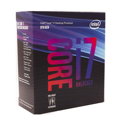 Intel Seed i7-8700K Coffee Lake 6-Core 3.7GHz (4.7GHz Turbo) Desktop Processor