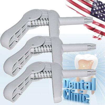 3x Dental Oral Composite Gun Syringe Dispenser Unidose Tip Applicator Dentist