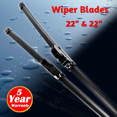 "22""+22"" Windshield Wiper Blades High Quality Beam Premium Hybrid silicone J-Hook"