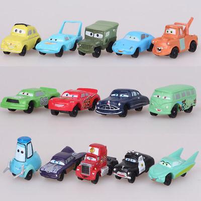 Cars Lightning McQueen Mater 14 PCS PVC Action Figure Kids Car Gift Toy US STOCK - Lightning Mcqueen Kids Car
