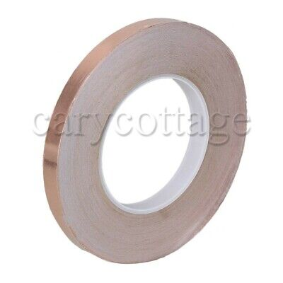 Conductive Copper Foil Tape 50m X12mm For Emi 25 Degree