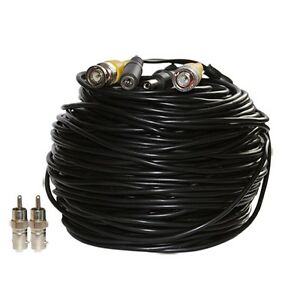 100ft-CCTV-BNC-Video-Power-Cable-DVR-Surveillance-Security-Camera-Wire-Cord-b3f