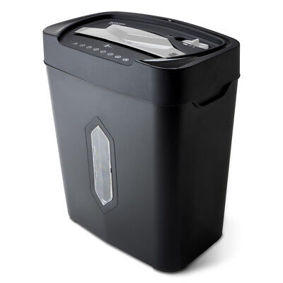 Aurora AU1230XA Anti-Jam 12-Sheet Crosscut Paper Shredder 5.2-gallon Wastebasket