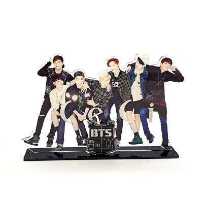 Bts Bangtan Boys Kpop Stars Group Family Acrylic Stand Figure Table Decoration