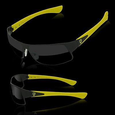 Men Racing Sport Sunglasses Champion European Designer Shades New Riding (European Sunglasses)