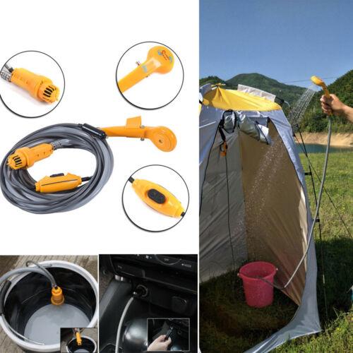 12V Outdoor Camping Dusche Brause Tauchpumpe Gartendusche Wohnmobil Auto Kfz NEU