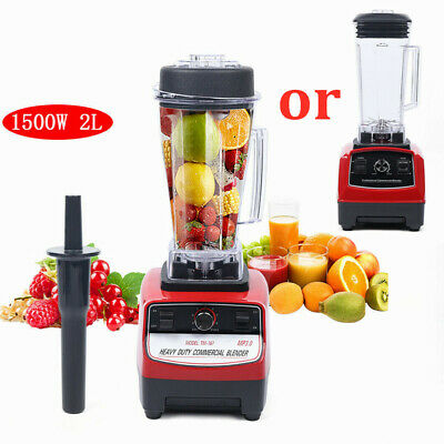 No Bpa 2l 1500w Heavy Duty Grade Blender Mixer Juicer Food Processor Ice Us