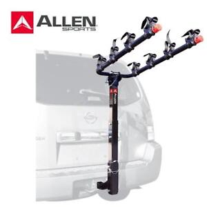 NEW ALLEN SPORTS 4-BIKE  RACK 542RR 183822570 BICYCLE HITCH MOUNT 542RR Allen Sports Rack with 2-Inch Receiver