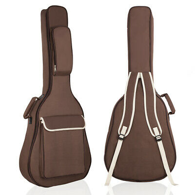 "1Pc 41""Acoustic Guitar Gig Bag Padded Double Strap Backpack Guitar Carrying Case"