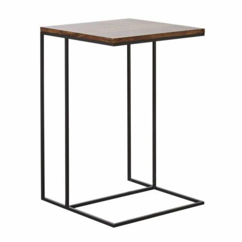 Beistelltisch Rocco aus Metall und Holz gefertigt - Zeitlos elegant - Nachttisch
