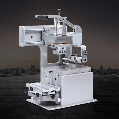 Manual Pad Printing Pad Printer Machine Kit Sealed Ink Cup System Plate Pad Top