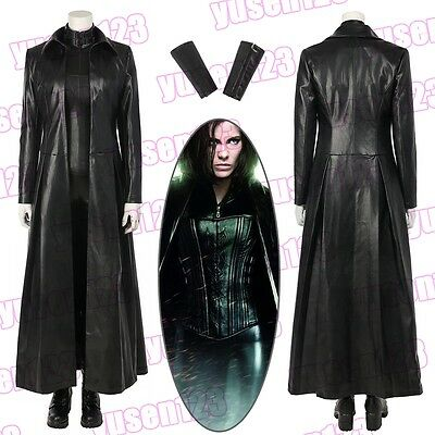 Underworld: Blood Wars Vampire Selen Black Halloween Cosplay Costume ComicCon - Underworld Costumes Halloween