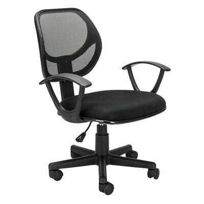 Black Ergonomic Mesh Executive Swivel Computer Desk Office Chair w/ Hanger 2020