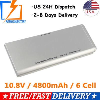 Laptop Battery For Apple Macbook 13'' A1280 A1278 Aluminum Unibody(2008 Version)