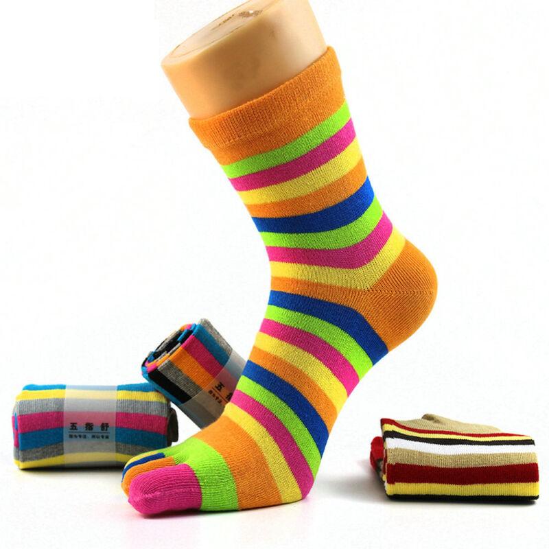 Socks Five Socks Rainbow Colorful