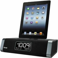 iHome Dual-Charging Clock Radio for iPhone 5, 5s & 6, iPad (iDL45BC) - Black