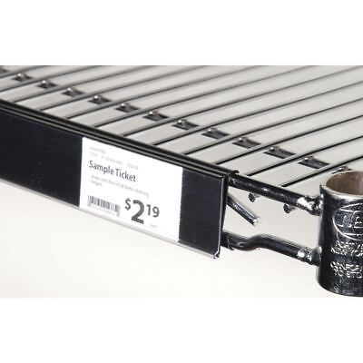 Shelf Label Holder For Metro Shelving Edge View Wire - 44 L X 1 14 H