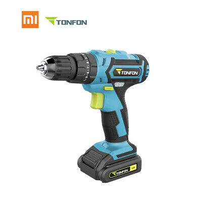 Xiaomi Tonfon Wireless Electric Drill 20V Rechargeable Impac