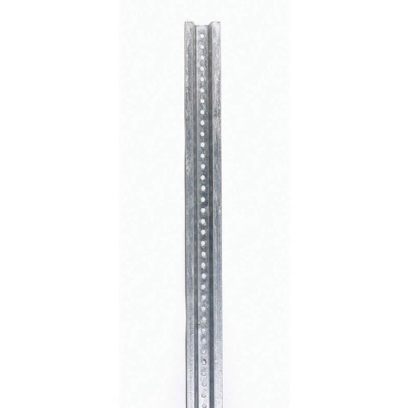 TAPCO 054-00015 Sign Post,Silver,Steel,8 ft L