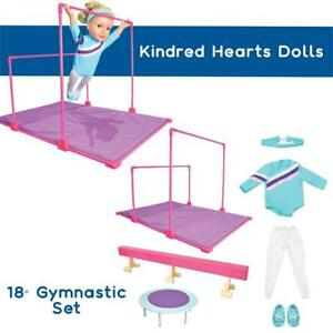 NEW Kindred Hearts Dolls 18 Gymnastic Set Condtion: New