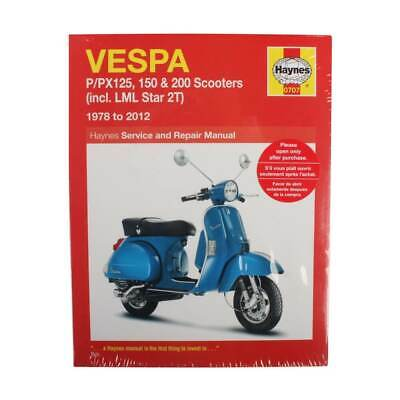 Haynes Manual for P Series Vespas / Scooter Part