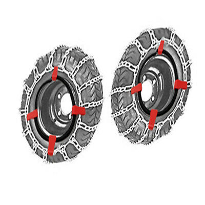 23x9.50-12 Snow Chains+Tensioner For Lawn Tractor Ride On Mower 23 X 9.50 - 12