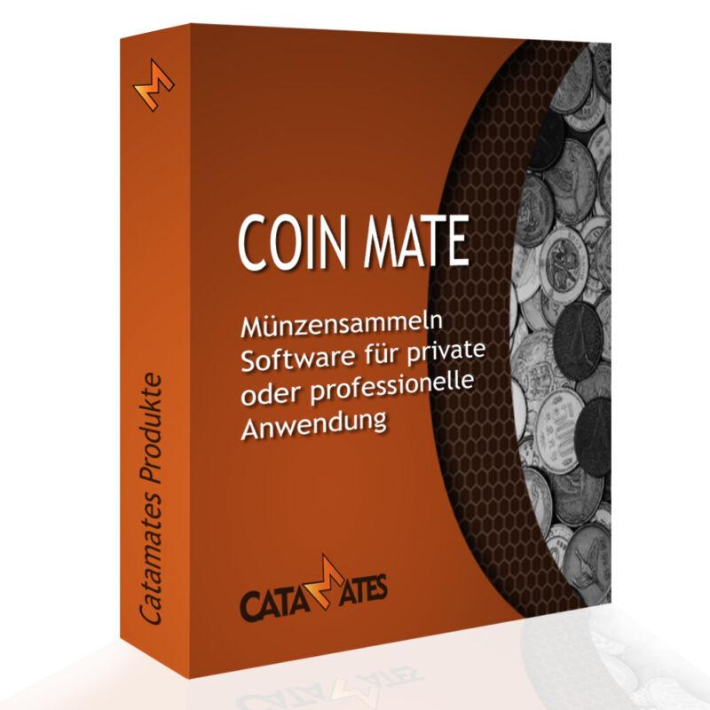 Coin Mate - Münzen Sammler Software